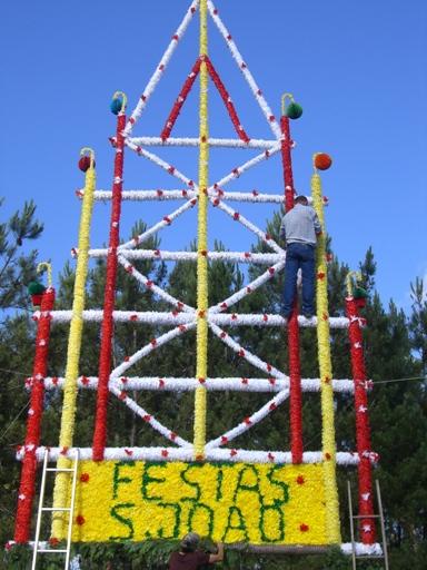 Festa de São João em Coucieiro