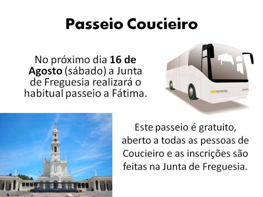Passeio Coucieiro 2014